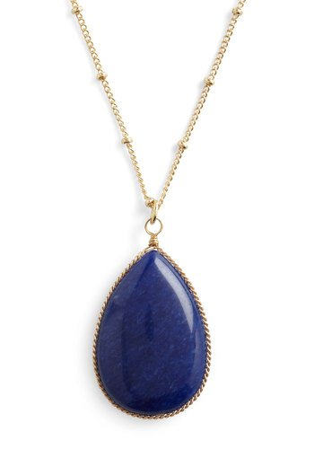 Teardrop Me Off Here Necklace