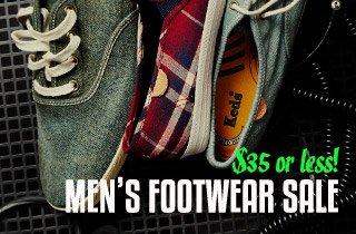 Mens Footwear $35 & Under