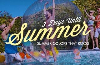 Summer Colors That Rock!