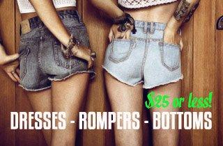 Women's Bottoms $25 & Under