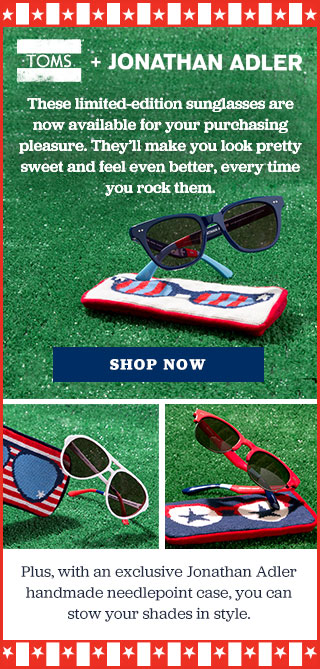 TOMS + Jonathan Adler - Shop Now
