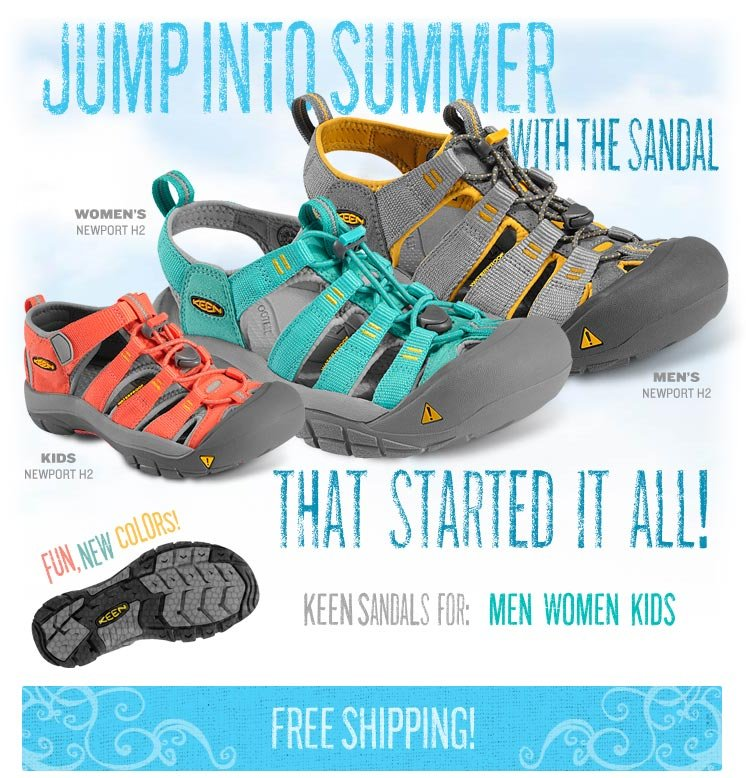 Jump Into Summer with the Sandal That Started it All!