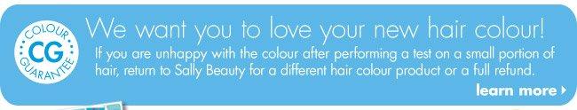 Hair Colour Guarantee
