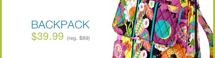 Backpack - $39.99
