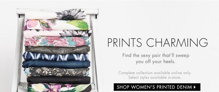 Shop Women's Printed Denim