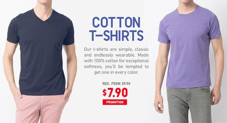 MEN COTTON T-SHIRTS
