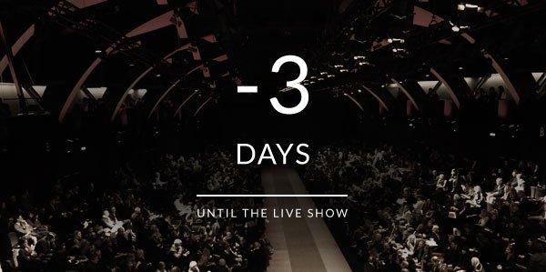 3 Days to the Live Show - Dolce&Gabbana Summer 2014 Mens Fashion Show
