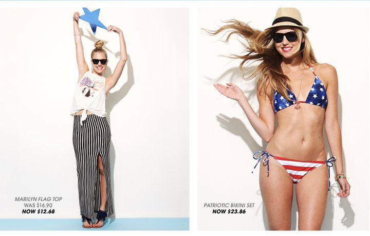 Wet Seal - Red White and Cute Collection