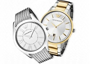 Emporio Armani Watches for Him & Her