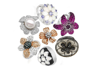 Jewelry Trend: Flower Power