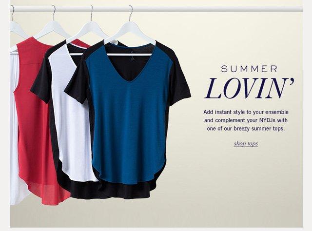 summer lovin' - shop tops