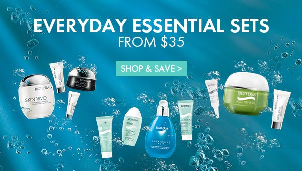 Everyday Essentials Sets From $35