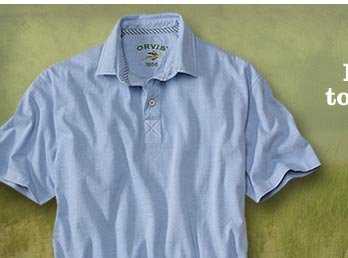 From the beach to the board room. Be prepared for everything your summer has in store with cool, comfortable shirts and polos from Orvis.