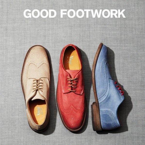 GOOD FOOTWORK