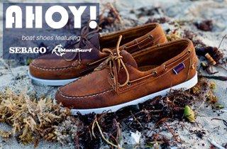 Boat Shoes Ft. Sebago & Island Surf