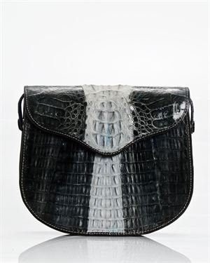 Genuine Crocodile Crossbody Bag