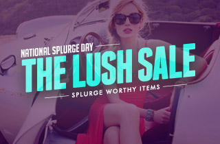 The Lush Sale