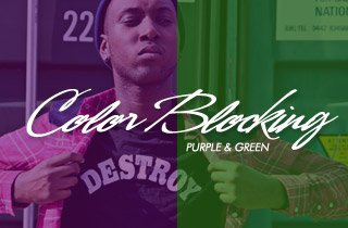 Purple & Green