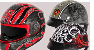 Largest Selection of Motorcycle Helmets, anywhere!