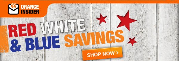 RED WHITE & BLUE SAVINGS