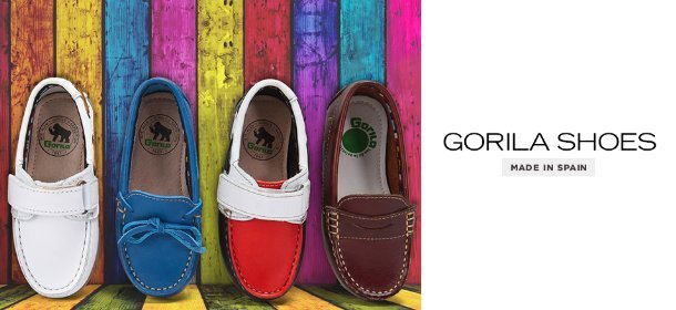 MADE IN SPAIN: GORILA SHOES, Event Ends June 23, 9:00 AM PT >