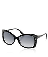 Bianca Black Sunglasses