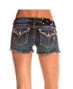 Miss Me Women's Cut Off Denim Shorts