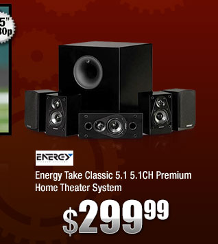 Energy Take Classic 5.1 5.1CH Premium Home Theater System