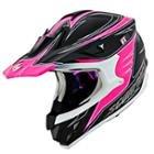 Scorpion VX-34 Spike Pink Helmet
