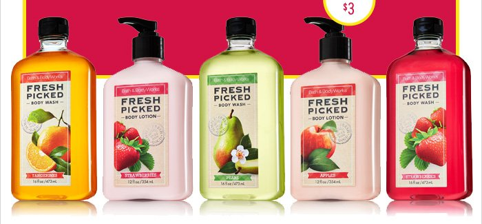 All Fresh Picked Body Care – $5