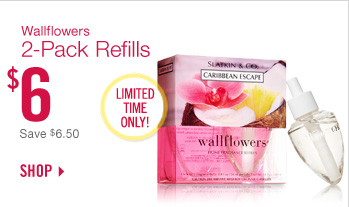 Wallflowers 2-Pack Refills – $6