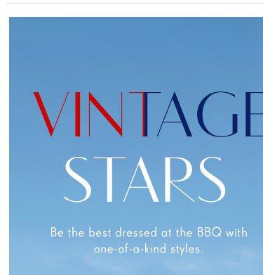 Vintage Stars=