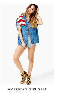 American Girl Vest