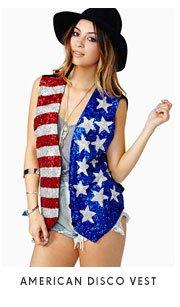 American Disco Vest