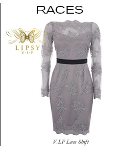 V I P Lace Shift Dress