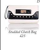 Studded Clutch Bag