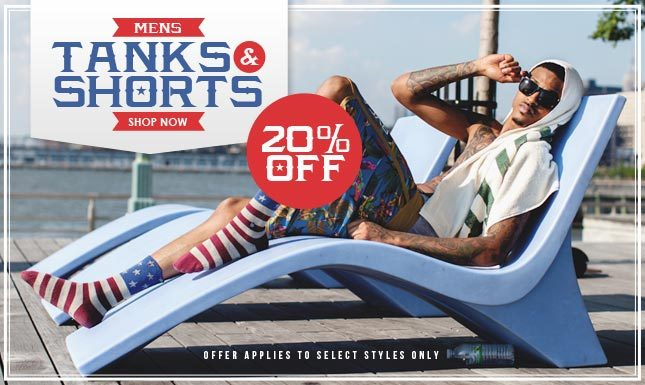 Tees, Tanks, Socks and more... Shop the Camo Showcase