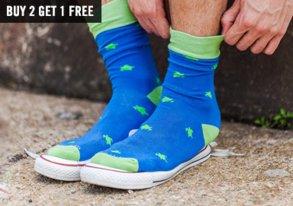 Shop Socks: Patterned Pairs & Packs