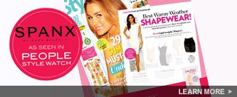 SPANX as seen in People Style Watch. Learn More.