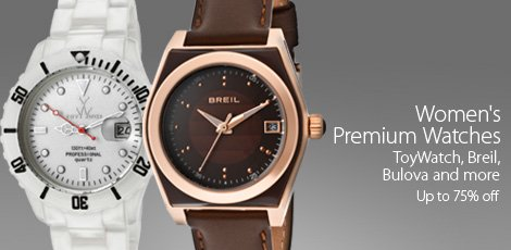 Women's Toywatch, Breil, Bulova and more