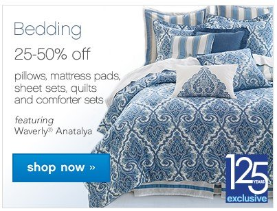 Bedding Basics 25-50% off. Shop now.