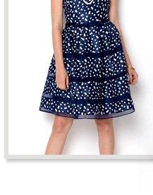 Taylor Polka Dot Party Dress