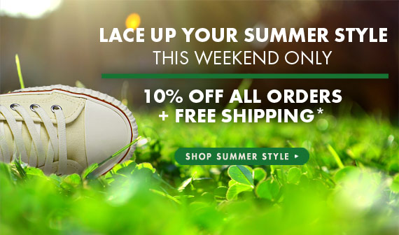 This Weekend Only 10% Off All Orders + Free Shipping