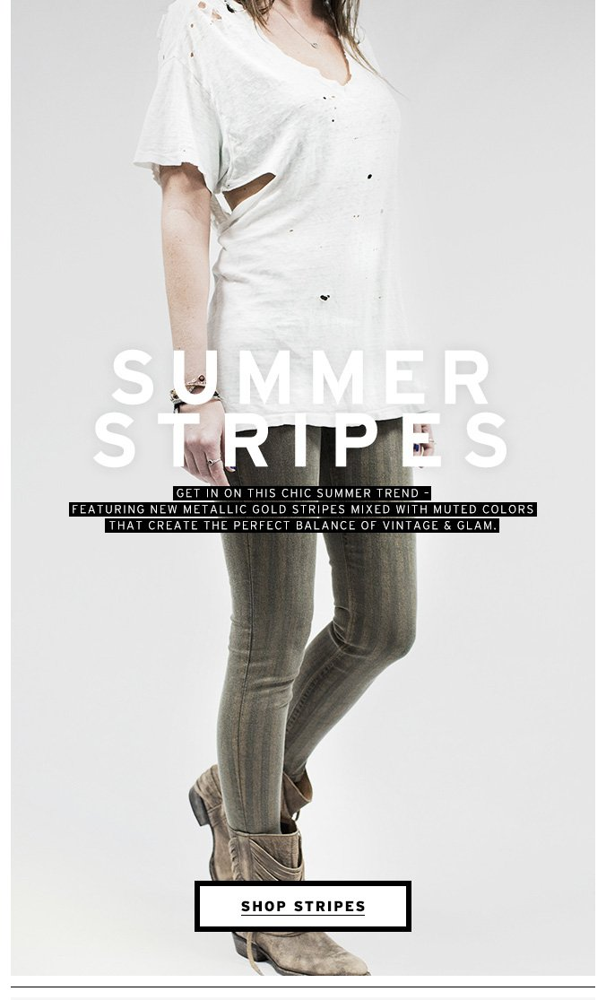 New Striped Denim Styles