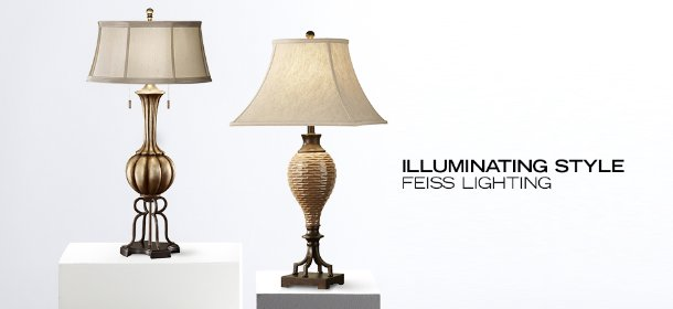 ILLUMINATING STYLE: FEISS LIGHTING, Event Ends June 25, 9:00 AM PT >