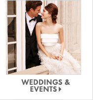 SHOP WEDDINGS & EVENTS