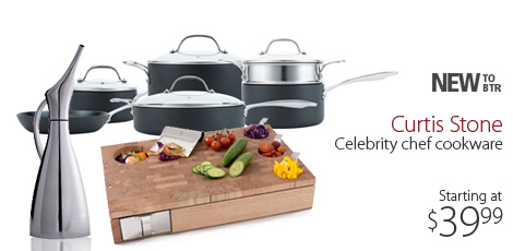 Celebrity Chef Curtis Stone Cookware