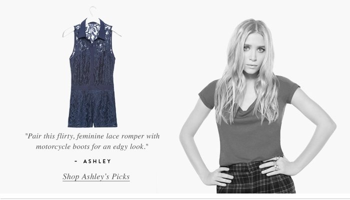 Shop Ashley Picks - Lace romper