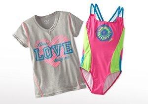 Get Up & Go: Girls' Activewear