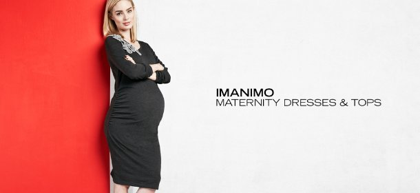 IMANIMO: MATERNITY DRESSES & TOPS, Event Ends June 26, 9:00 AM PT >